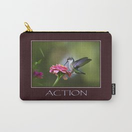 Inspirational Action Carry-All Pouch