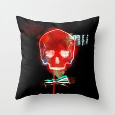 cool_skull Throw Pillow