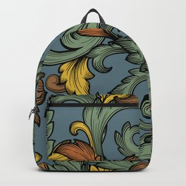 Acanthus Leaves Backpack