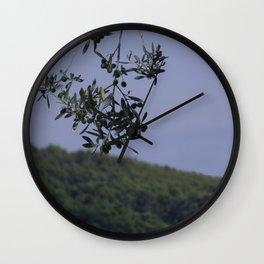 Sweet Olive Tree Wall Clock