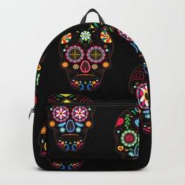 Colorful Skulls Backpack