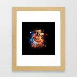 Distortion Framed Art Print