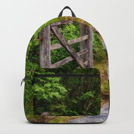 Path Into The Forest Backpack