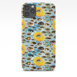 Eyes (Cue the Peaches) iPhone Case