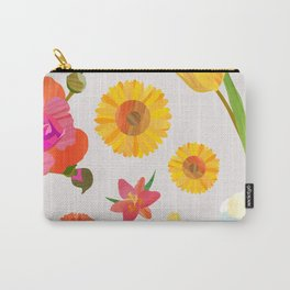 My Favorite Flowers Carry-All Pouch