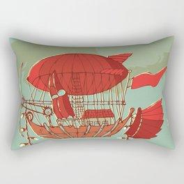 Airship Fantasy Rectangular Pillow