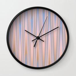 Iced Coffee Serenity Rose Quartz Pattern 2 Wall Clock