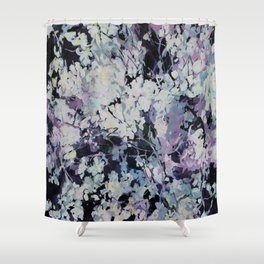 "''Flowers"" Shower Curtain"