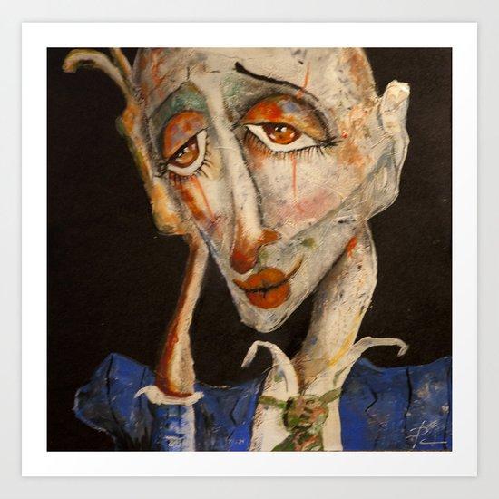 cirque 2 Art Print