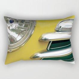 Yellow Classic Car II Rectangular Pillow