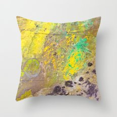 Galaxy Road Throw Pillow