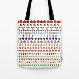 Clash of Pixels Tote Bag