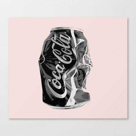 This drink is popular than me Canvas Print