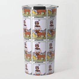 Midsommar Tarot Card Strength: Dani Ardor Travel Mug