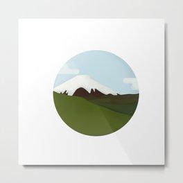 Cotopaxi Vulcano Metal Print