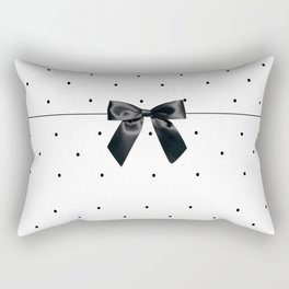 Black Tie Affair Rectangular Pillow