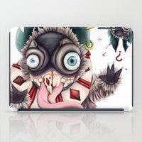 bucky iPad Cases featuring Bucky by Maria Gabriela Arevalo Reggeti