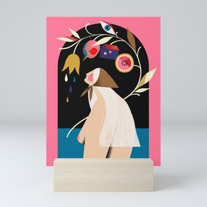 CACARECO Mini Art Print