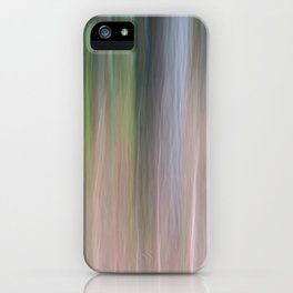 Forest Blur iPhone Case
