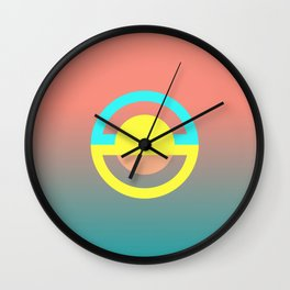 geometry is simple Wall Clock