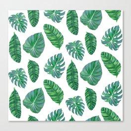 Banana leaf Canvas Print
