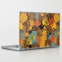 The bee. Laptop & iPad Skin