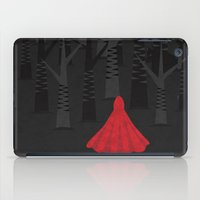 red riding hood iPad Cases featuring Red Riding Hood by Illusorium