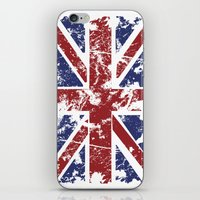 uk iPhone & iPod Skins featuring Grunge UK by Sitchko Igor