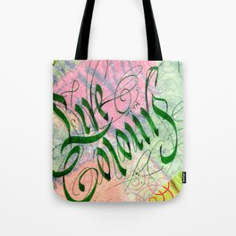 Live with Colors Tote Bag
