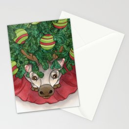 Baby Reindeer Stationery Cards