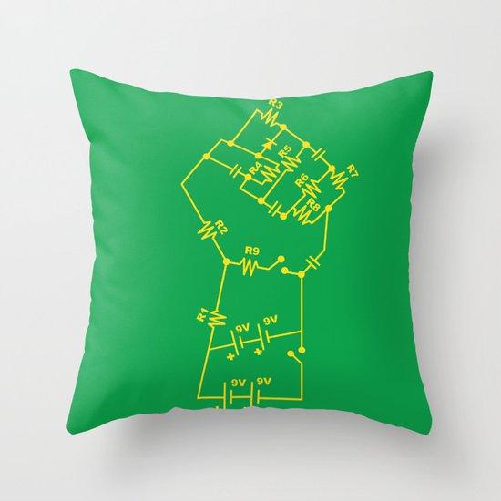 Re-Volt Throw Pillow