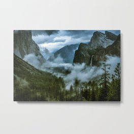 Yosemite After the Rain Metal Print