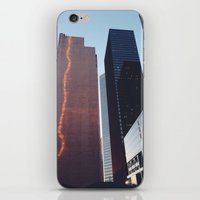 houston iPhone & iPod Skins featuring Houston by Jorieanne
