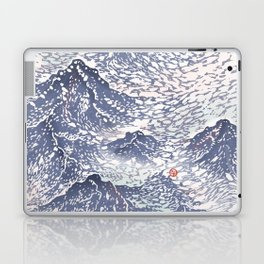 Distant View - 遠望 series -Linocut Laptop & iPad Skin