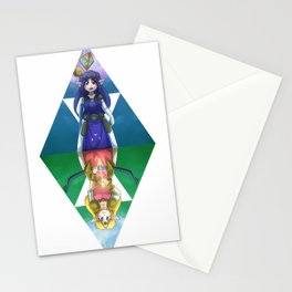 Lorule // Hyrule  Stationery Cards