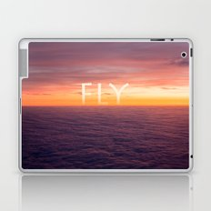 Above the clouds Laptop & iPad Skin
