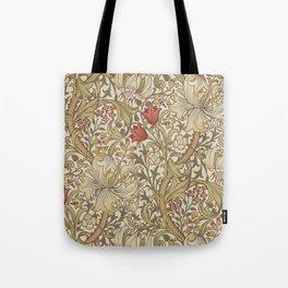 William Morris Golden Lily John Henry Dearle Tote Bag