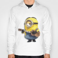 minions Hoodies featuring MINIONS by DisPrints