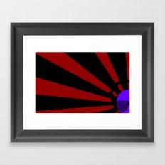 Rising DJ Framed Art Print