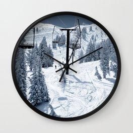 Mammoth Mountain: Chair 12 Wall Clock