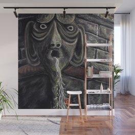 Grotesque Gargoyle Waterspout Wall Mural