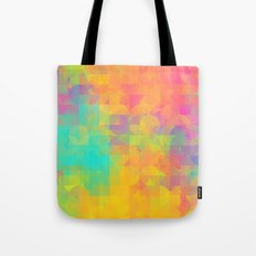 Light and Geometry Tote Bag