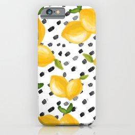 Lemon Squeeze iPhone Case