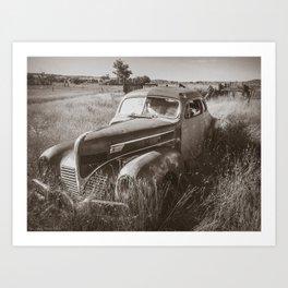 1939 Dodge Coupe Art Print