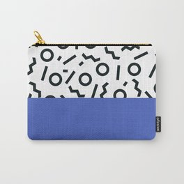 Memphis pattern 44 Carry-All Pouch