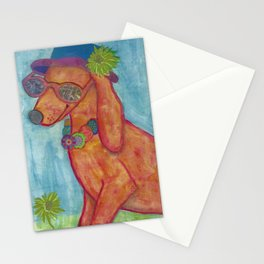 Cool Hot Dog Stationery Cards