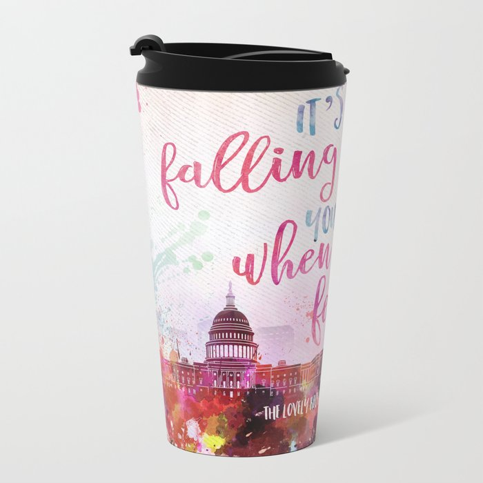 The Lovely Reckless - Like Falling in Love Metal Travel Mug
