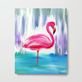 Flamingo Fabulousness Metal Print