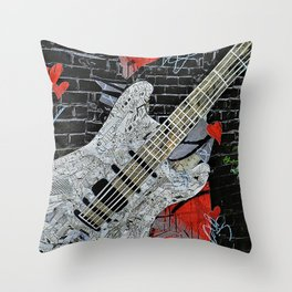 """""""Rockin"""" Throw Pillow"""