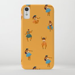 Hula party iPhone Case